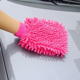 雪尼爾汽車擦車手套/手機-電腦-窗戶 清潔 (雙面)