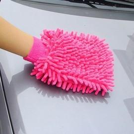雪尼爾汽車擦車手套/手機-電腦-窗戶 清潔 (雙面絨布)