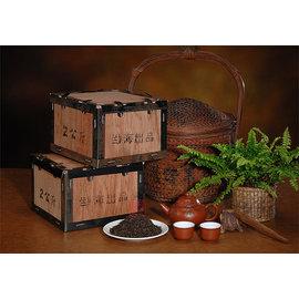 ~雅品苑茶莊~TGF~G02_~10年宮廷普洱散茶木盒裝~ 熟茶2000g 古樹茶.大樹茶