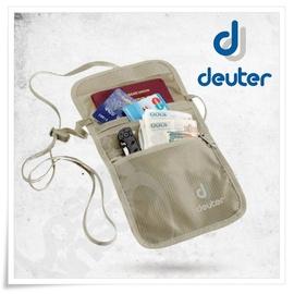 【德國 Deuter】Security Wallet II 隱藏式錢包.防盜隨身暗袋-斜背式.貼身腰包.出國旅遊.護照証件包.斜肩包.小零錢包/卡其  39210 卡其