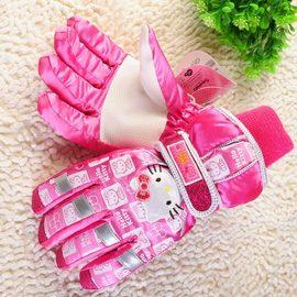 嘉芸的店 Hello Kitty 保暖 防風 防水 cherokee 滑雪手套 3M 兒童