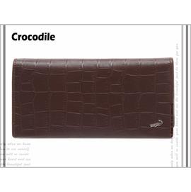 ~My Fashion~~~Crocodile鱷魚牌~~壓鱷紋真皮系列~~0203~401