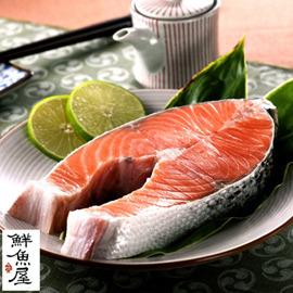 ~鮮魚屋~挪威 厚切鮭魚切片350g^~400g