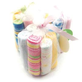 小方巾/口水巾 /手帕 紗網8條一包促銷商品【HH婦幼館】
