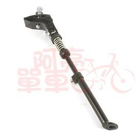 單車中心固定式側腳架, 20吋∼28吋單車,黑、銀色兩種~B84~055~