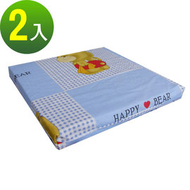 【快樂小熊】和室沙發(聚合棉)坐墊/椅墊/座墊(二色可選)-2入/組-B13CM40-2