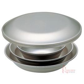 TW-021D日本Snow Peak不鏽鋼餐盤組2人份四件組餐碗/碗盤/露營/野炊/日本製造