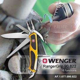 瑞士WENGER RangerGrip 90.822 16用多用途瑞士刀 #1.77.90.822
