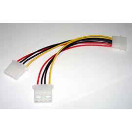 (主機板/power) 4PIN一分二 1公對2母 電源線/延長轉接線/電腦排線 (COM-00002)