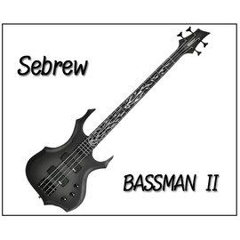 ~奇歌的店~Sebrew希伯萊•Bassman 2代電貝斯•24高品數•磨砂烤漆•厚棉琴袋