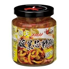 老騾子~朝天酸菜芯 240g x 24罐