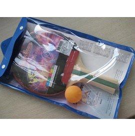 ~橙色桔團~ STEEL MAN 製正板拍 刀板桌球拍  價只要106元附球及拍袋