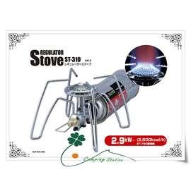 大林小草~日本SOTO ST-310 攜帶輕便型戶外卡式瓦斯爐(附收納袋)
