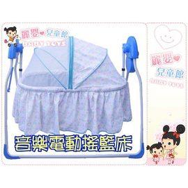 麗嬰兒童玩具館~MOTHER'S LOVE 水平式電磁感應電動搖床-嬰兒搖籃.有音樂夜燈