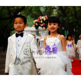 A11 義大利訂製款 兒童禮服 結婚花童表演服 蓬蓬裙 膨膨裙 澎澎裙 ~愛米粒~