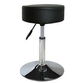 【E-Style】吧台椅/工作椅/吧檯椅(高級鍍鉻金屬圓盤腳座)-1入/組(三色可選)-T316A-1