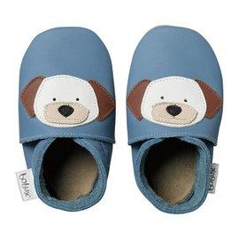 紐西蘭 Bobux 真皮學步鞋 童鞋 Soft Sole 系列 ~ 俏皮小狗 Denim