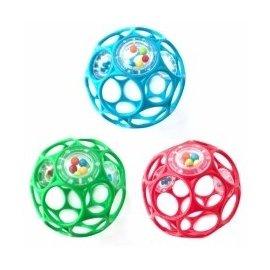 【紫貝殼】『CF22』美國 Kids II-Oball【4吋沙沙款 10cm】魔力洞動球.洞洞球.動動球*暢銷款【店面經營/可預約看貨】