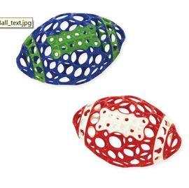 【紫貝殼】『CF25-3』美國 Kids II-Oball【橄欖洞動球】藍色款