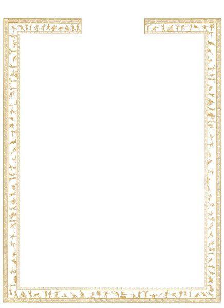 a4空白烫金边框证书,聘书,奖状,感谢状(g款)(无国旗)