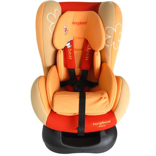 华丽婴儿汽车安全座椅-红橘
