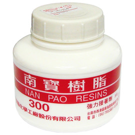 南寶樹脂300 強力接著劑/白膠 300g★用於接著、貼合★接著力佳 不易脫膠