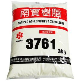 南寶樹脂3761 強力接著劑/白膠 3kg★接著力強★操作方便★耐水性