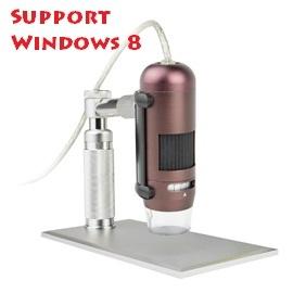 WVK~M200U 高階鋁殼 USB 200萬畫素手持式 顯微鏡 鋁製高階多 腳架^(ST