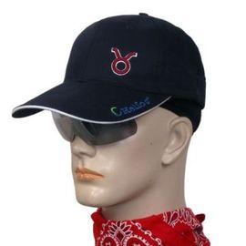 《UHO》太陽眼鏡休閒帽 遮陽帽.棒球帽.防曬帽.適登山.露營.騎腳踏車.釣魚-金牛座