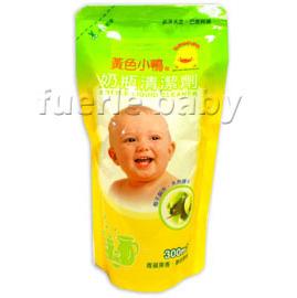 黃色小鴨奶瓶清潔劑蘋果香300ml