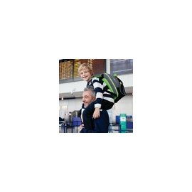 【紫貝殼】『HB08』英國Trunki BoostApak  ☆兒童專用增高椅背包(汽車安全座椅與背包)(綠)【保證公司貨●品質有保證●非水貨】