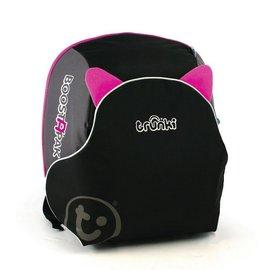 【紫貝殼】『HB08-2』英國 Trunki BoostApak 兒童增高椅背包/汽車安全座椅與背包(粉)【保證公司貨】