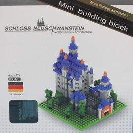 迷你積木 8601~5 德國新天鵝堡 世界主題建築系列積木 一個入^~促180^~^~CF