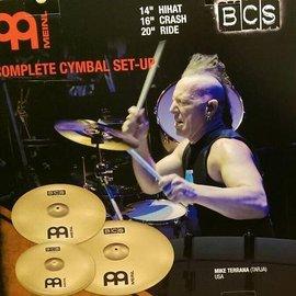 亞洲樂器 MEINL BCS 爵士鼓 套裝銅鈸組 德國製