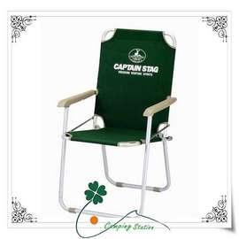大林小草~【M-3872 】日本 鹿牌 CAPTAIN STAG 鋁合金 明星椅、導演椅、休閒椅