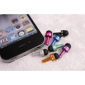 電容式觸控筆+耳機孔+防塵塞 三合一 3.5mm 手寫筆 電容筆/ HTC iPhone 4 4s iPad Samsung3.5mm耳機孔防塵塞