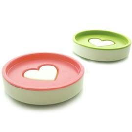 時尚浪漫 愛心造型香皂盒/肥皂盒