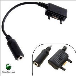 sony ericsson(K750) 扁口轉3.5mm耳機孔(母) 手機轉MP3/MP4/音箱 耳機轉換線/傳輸線 [JIM-00020]