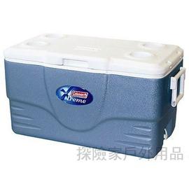 6251A748美國COLEMAN五日鮮36QT行動冰桶(藍)冰箱5日鮮34公升(美國製)