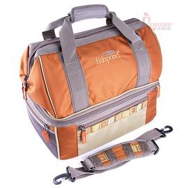 FP-ALB-L 美國 FISHPOND馬鞍棕雪浪-隔溫午餐提袋/保溫袋/便當袋(L號)保冷袋