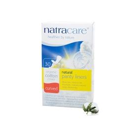 ~Natracare英國綠可兒~抗敏有機護墊 曲線型  30片 盒