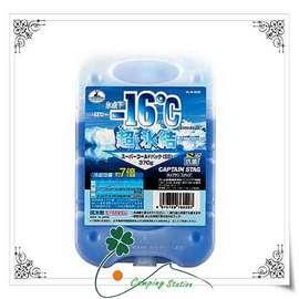 大林小草~【M-6929】日本鹿牌 CAPTAIN STAG 抗菌超凍媒-16℃ 370g、冷煤磚、保冷磚