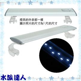 【水族達人】雅柏UP《水草專用LED燈˙1.2尺(36cm) ˙PRO-LED-Z-12》安規認證