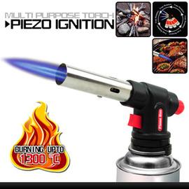 自動點火噴火槍 P086-AC8807(壓電式噴火器.卡式.點火槍.瓦斯噴槍.噴燈.野炊.生火.烤肉.工藝模型.小型焊接.加溫解凍.烘焙.特價.推薦)