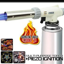 360度噴角特級噴火槍 P086-AC8805(壓電式噴火器.卡式.點火槍.瓦斯噴槍.噴燈.野炊.生火.烤肉.工藝模型.小型焊接.加溫解凍.烘焙.特價.推薦)