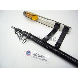 ◎百有釣具◎台灣製造 SUPER STRIKE HDC 黑襲 頂級磯投竿6號21尺-630