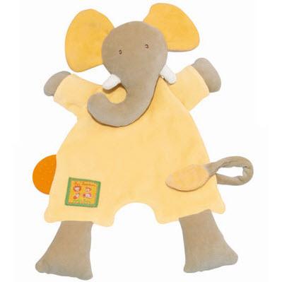 可爱非洲动物乐园大象多功能安抚巾