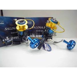 ◎百有釣具◎OKUMA SALINA 第二代強力紡車捲線器 規格5000a型~再送200M布線