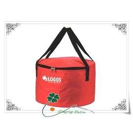 大林小草~【81062216B】LOGOS荷蘭鍋鍋袋/收納袋/鍋具餐具裝備袋(適合裝12吋荷蘭鍋)