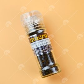 【艾佳】Macro黑胡椒粒調味研磨罐50g/罐